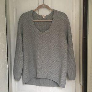 Cuyana Oversized Ribbed Sweater, xs